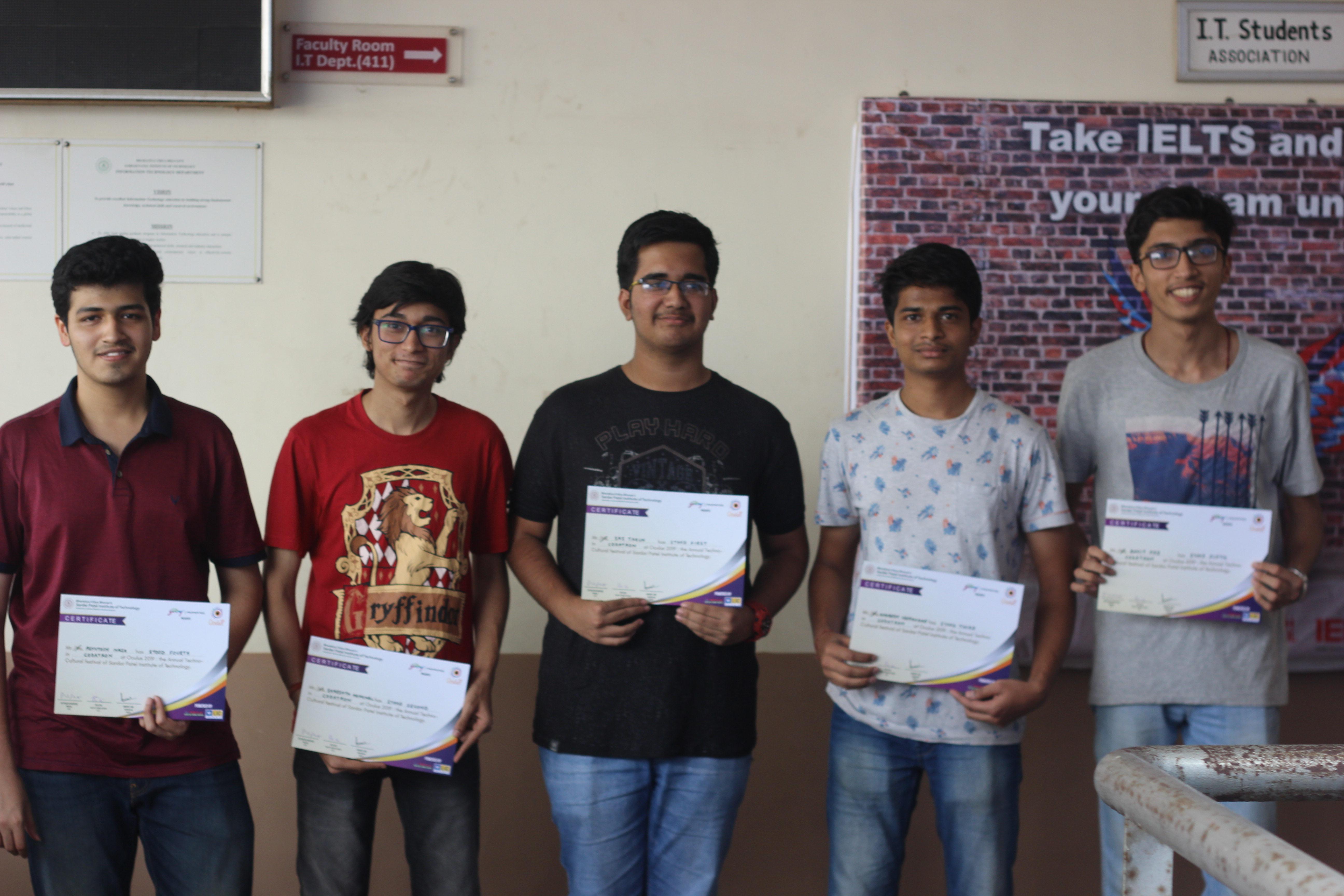 FE Winners of Codatron